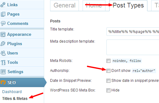 Choosing WordPress Post Types for Authorship